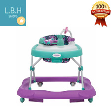 Cosco Girls Midnight Garden Baby Walker Padded Seat Toy Tray Steering Wheel NEW