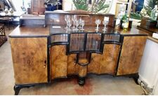 Spectacular Art Deco Liquor Cabinet Buffet Estate Mahogany Very Stunning Rare