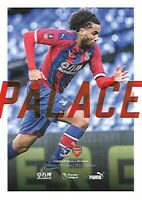 Crystal Palace v Arsenal 11th January 2020 Match Programme 2019/2020