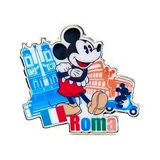 DISNEY STORE PIN BADGE - MICKEY MOUSE ROMA - MOC