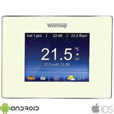 Warmup 4iE Wifi Pantalla Táctil Digital Termostato Programable De Porcelana Brillante