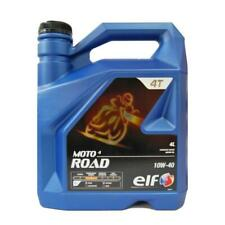 ELF Moto 4 Road 10w 40 (Semi Synthetic) 4Ltr Motorcycle OIl