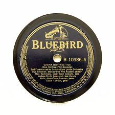 "BUD FREEMAN SUMMA CUM LAUDE ORCHESTRA ""China Boy"" (EE+) BLUEBIRD B-10386 [78]"