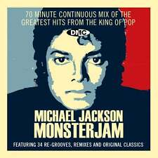 DMC Michael Jackson Monsterjam Continuous Megamix Party Mixed DJ CD Ft Jackson 5
