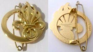 insigne de béret du 1°REG 1°Régiment Etranger de Génie LÉGION ÉTRANGÈRE  G 4572