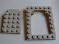 Lego 1 trappe beige / 1 tan trap door w/ frame set 7416 5938 5988 5919 3722