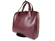 Authentic CARTIER Cartier Must De Vintage Bordeaux Hand Bag CH0042