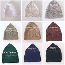 Muslim Men's Hats - Turkish Caps Cotton - Kufi Prayer Hat- Topi - Taqiyah - Taqi