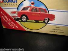 CORGI CLASSICS FORD CORTINA MK I LONDON TRANSPORT RADIO CAR + FIGURES  98165