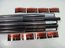 NEW KBS TOUR  BLACK NICKEL X-STIFF FLEX IRON SHAFTS 4-PW .355 TAPER TIP SET