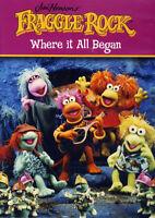 JIM HENSON'S FRAGGLE ROCK -  WHERE IT ALL BEGAN NEW DVD