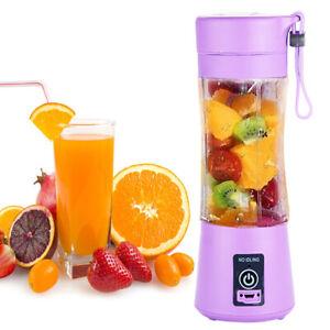 Portable Fruit Juicer Shaker Bottle USB Electric Juicer Smoothie Maker Blender