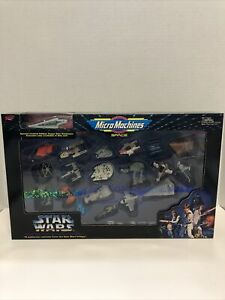 Sealed rare Star Wars Master Collector's Edition Vehicles Micro Machines gift
