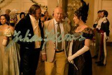 Julian Fellowes Hand Signed 6x4 Photo Screenwriter Downton Abbey Autograph + COA