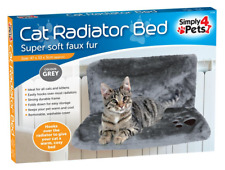 Cat Kitten Radiator Bed Pet Warm Grey