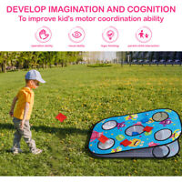 Cornhole Game Set Play Bean Bags Toy Throwing Bags Tossing Game Beanbag Children