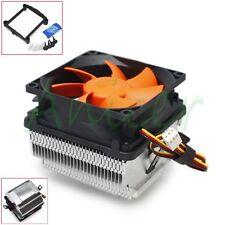 CPU Radiator Heatsink Fan 18dBA Cooler For Intel 775 1155 AMD AM2 AM2+ AM3 FM1