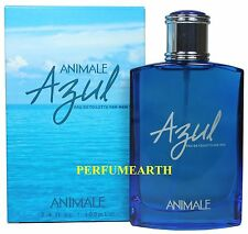 Azul By Animale 3.3/3.4oz. Edt Spray For Men New In Box