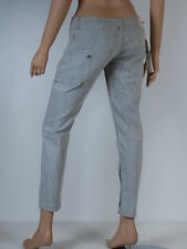 jeans slim gris femme FORNARINA taille W 30 ( T 40 )