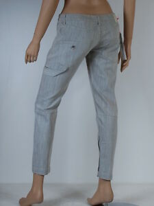 jeans slim gris femme FORNARINA taille W 28 ( T 38 )