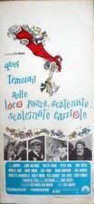 affiche 1969 CES MERVEILLEUX FOUS SUR LEUR FOU PLI brouettes-Tony Curtis