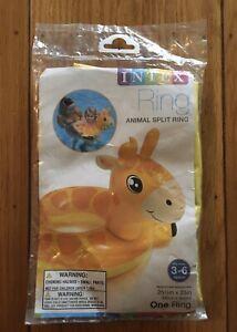 New Intex Animal Split Ring Summer Pool Water Giraffe
