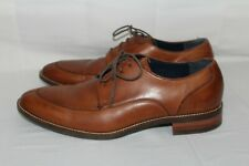 New COLE HAAN Men's 10.5 M Grand OS Brown Split Toe Leather Oxford Dress Shoes