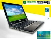 Dell Laptop Duo Windows Vista 1 YR WTY RS232 Serial Com Port New Battery