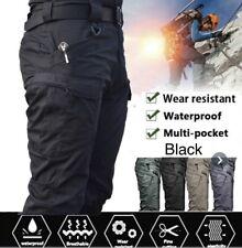 Men's Tactical Pants, Water Repellent Ripstop Cargo Pants, Hiking Work Pants NEW