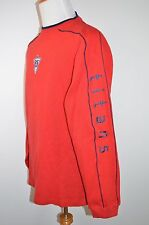 NFL Titans Logo Puma Long-Sleeve Shirt Red Mens L
