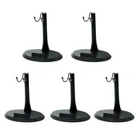 5lots 1/6 Scale Action Figure Base Display Stand U Type for hot toy sideshow BBI