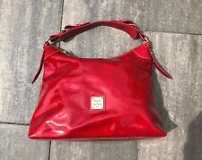 Dooney & Bourke RED Patent Tote Bag Sac NEW