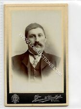(Ga2266-461) Real Photo CDV by Horace H.Dudley of West Bromwich c1890 VG Male