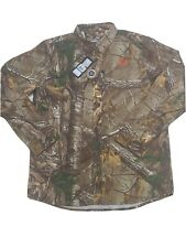 Under Armour SZ M/L/ XL Realtree Xtra Camo L/S Camo Shirt Men's 1235494 MSRP$80