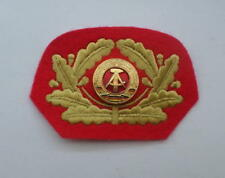 Esercito generale stasi DDR NVA ricamate/distintivo per UNIFORM berretto GDR ha BADGE