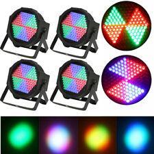 4X 25W Wash Effect 127LED DMX RGB Par Stage Lighting Disco Party DJ Light F5Z2