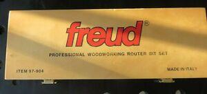 Freud 97-904 Three Piece Cabinet Bit Set (Mini Profile)