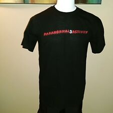 PARANORMAL ACTIVITY 3 TITLE BLACK EXTRA LARGE XL MOVIE TOP T SHIRT