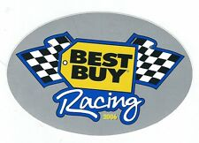 Sponsor Best Buy NASCAR Auto Racing 2006 Oval Sticker