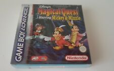 MAGICAL QUEST STARRING MICKEY NEW SEALED Game boy nintendo gba red strip capcom