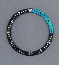 1/4 Teal & Black Bezel Insert fits Seiko 6105, 6309, 7002 & SKX007, 009, 173....
