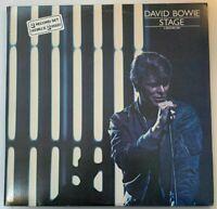 David Bowie – Stage, RCA Victor, 2 × Vinyl, LP, Album, Live (1978)