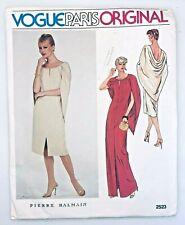 vtg VOGUE Paris Original Sew Pattern 2523 - Pierre BALMAIN Dress 8 uncut RARE