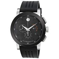 Movado Museum Black Mens Watch 0606545-AU