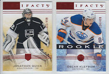2014-15 UD ARTIFACTS JONATHAN QUICK /499 Red Ruby #107 Goalie Upper Deck Kings