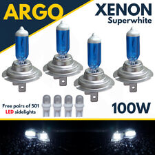 4x H7 Led 501 100w Super White Xenon Upgrade Head Light Bulbs Set Main Dip Beam