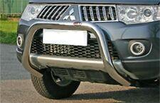MITSUBISHI L200 2010  DOUBLE CAB BULL BAR MIRROR INOX 70 LUCIDO 2/4Pt