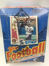 1982 Topps Football Unopened Wax Box BBCE Authenticated Lott, Taylor RC PSA 10