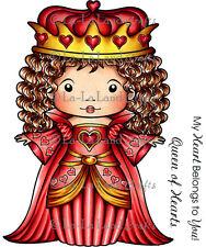 La-La Land 'Queen of Hearts Merci' Cling Stamps
