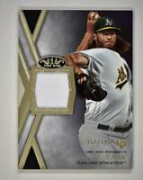 2020 Tier One Patch Relic #T1R-AJP A.J. Puk RC /395 - Oakland Athletics